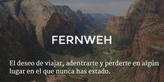 Aleman: fernweh