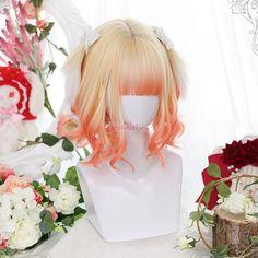 Kawaii Hairstyles, Pretty Hairstyles, Wig Hairstyles, Beach Hairstyles, Hairstyle Men, Funky Hairstyles, Formal Hairstyles, Anime Wigs, Anime Hair