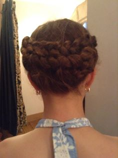 Love this Halo Style Braid, Stunning For Any Occasion