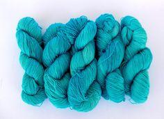 Arya Stark - Ice Sky -  50% Superwash Merino 50% Silk - Sock