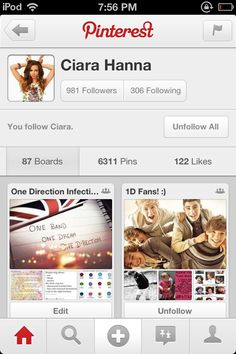 Go follow @Ciara Hanna