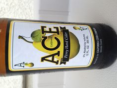 ACE Perry Hard Cider (pear)-A gluten free beer! YES!!!!!!!!!!!