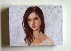 Tiny canvas prints by Tali - really fresh little acrylics