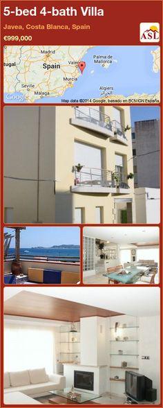 5-bed 4-bath Villa in Javea, Costa Blanca, Spain ►€999,000 #PropertyForSaleInSpain