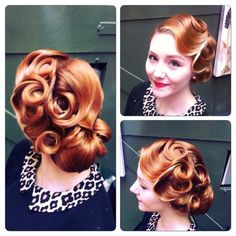 28 Trendy Vintage Wedding Hairstyles Updo Pin Up Retro Style 1940s Hairstyles, Fancy Hairstyles, Wedding Hairstyles, Homecoming Hairstyles, Braid Hairstyles, Retro Wedding Hair, Wedding Hair And Makeup, Wedding Updo, Pinup