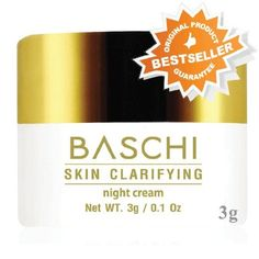 Free Shipping !!! Baschi Skin Clarifying Night Cream 3 G. -- You can find out more details at the link of the image.