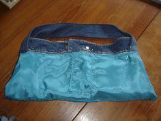 diy einfache tasche n hen aus einer alten jeans f r. Black Bedroom Furniture Sets. Home Design Ideas