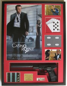James Bond Casino Royale Walther P99 Poster Photo Film Cell Limited Edition Arta | eBay
