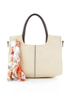 Blanche Satchel in Soft Sand