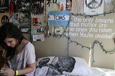 Indie hipster room.