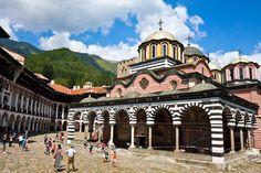 Rila Monastery. Bulgaria.