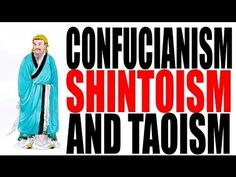 Confucianism, Shintoism, and Taoism- World History videos by Hip Hughes Ancient World History, World History Lessons, History For Kids, History Projects, History Memes, Art History, World History Classroom, Teaching History, History Education