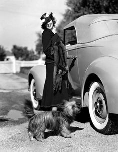 Jeanette MacDonald and friend