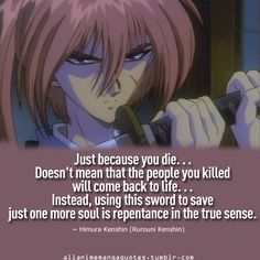 Kenshin - The most amazingly, humanly, wonderfully relatable former assassin/samurai ever!