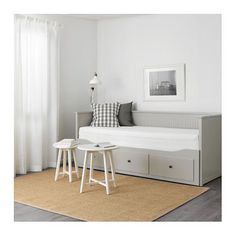 IKEA HEMNES day-bed frame with 3 drawers