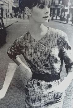 Jean Shrimpton inVogue Pattern Book Feburary/March 1964