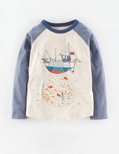 Catch Of The Day T-shirt 21871 Graphic T-Shirts at Boden