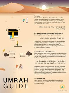 Umrah Guide: How to perform this Muslim Pilgrimage Islamic Images, Islamic Messages, Islamic Pictures, Islam Muslim, Islam Quran, How To Do Umrah, Umrah Guide, Prophet Quotes, Quran Quotes
