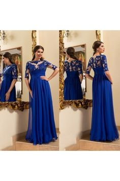 Fashion Royal Blue Prom Dresses 2016 New Long Prom Dress Appliques Lace Evening Dress Beaded Chiffon Women Formal Pageant Gown Wedding Party Dress Royal Blue Evening Dress, Blue Evening Gowns, Royal Blue Prom Dresses, Evening Dresses Plus Size, A Line Prom Dresses, Lace Evening Dresses, Cheap Prom Dresses, Bride Dresses, Dresses 2016