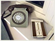 BT Phone and directory c. 1960 - 1980