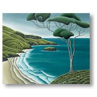 Otago Peninsula -lg by Diana Adams - prints