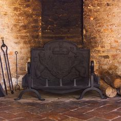 Create a classic fireplace with our beautiful swan necked Berwick fire dogs and large grate in our smart, hard wearing matt black. Powder Coating Process, Classic Fireplace, Beautiful Swan, Blacksmithing, Home Furnishings, Iron, Fire Places, Dogs, Pictures
