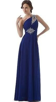 Faironly Long Style Cocktail Evening Bridesmaid Dress Prom Party Women