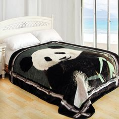 Super soft panda blanket, down to $42.95 from www.pandathings.com