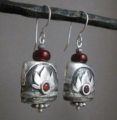 Heidi Stinson's beautifully embellished earrings.