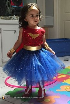 Wonder Woman Costume for Toddler...