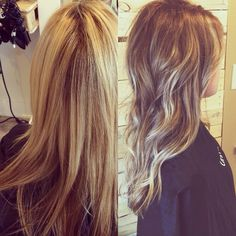#baylage #brown #blonde #ombre