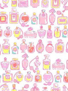 Perfume Bottle Pattern