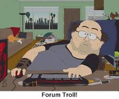 South Park's Forum Troll Poster