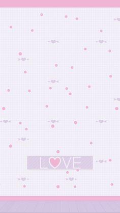 By Artist Unknown. Chevron Wallpaper, Pretty Phone Wallpaper, Matching Wallpaper, Soft Wallpaper, Hello Kitty Wallpaper, Wallpaper Size, Heart Wallpaper, Apple Wallpaper, Kawaii Wallpaper