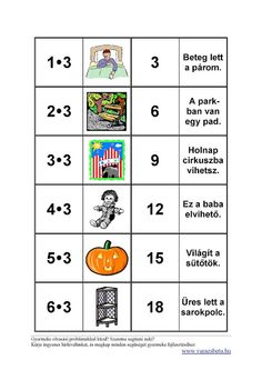 Matek 1.o-2.o - Klára2 Kovács - Picasa Webalbumok Math Activities, Mathematics, Homeschool, Album, Teaching, Kids, Minion, Education, Picasa
