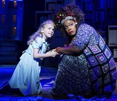 Matilda Shapland in Matilda the Musical West End
