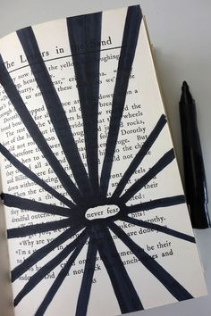 #blackoutpoetry #alteredbooks