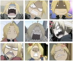 The many faces of Edward Elric. cont'd