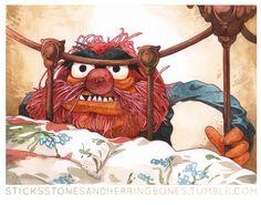 OMG it is still scary! Muppets as Twin Peaks Characters