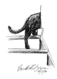 "Daily Sketch: ""Flash""   by the wonderful Bernadette Kazmarski"