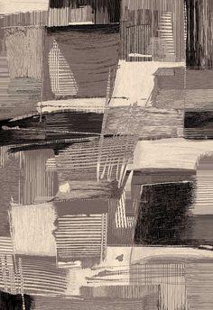 CAPRI geometric art grey cream & black rug by Sitap Diy Carpet, Modern Carpet, Modern Rugs, Rugs On Carpet, Carpets, Carpet Ideas, Modern Luxury, Modern Contemporary, Grey Rugs