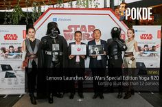 Lenovo Malaysia recently the Star Wars Special Edition Yoga 920 that comes in two versions, Rebel Alliance and Galactic Empire. Perfect for Star Wars fans.   Share this:   Facebook Twitter Google Tumblr LinkedIn Reddit Pinterest Pocket WhatsApp Telegram Skype Email Print