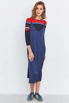 Urban Renewal Vintage Remnants Contrast Slip Dress