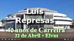 Luís Represas em Mega Concerto em Elvas, com convidados de luxo e pirotecnia | Portal Elvasnews