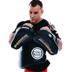 Straight Focus KICK GYM Pads 12oz 16oz Gloves Hand Wraps KIT BOXING TRAINER SET