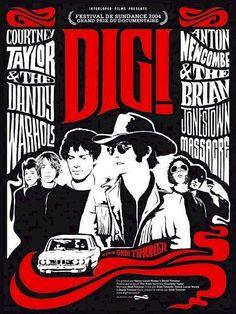 DIG! Docu about The Dandy Warhols and The Brain Jonestown Massacre