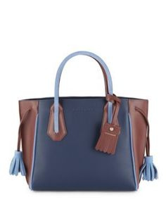 LONGCHAMP Penelope Leather Tote. #longchamp #bags #leather #hand bags #tote #
