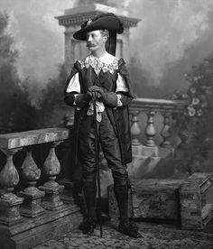 Sir Henry Meysey Meysey-Thompson, 2nd Bt., of Kirby Hall, County York, later 1st and last Baron Knaresborough (1845-1929) as John de Witt.