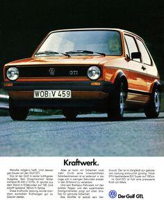 VW Golf I GTI, 1979. Kraftwerk, DDB Germany