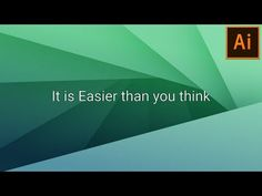 Abstract Background Design in Illustrator - YouTube